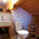 Salle de bain de Gentiane.