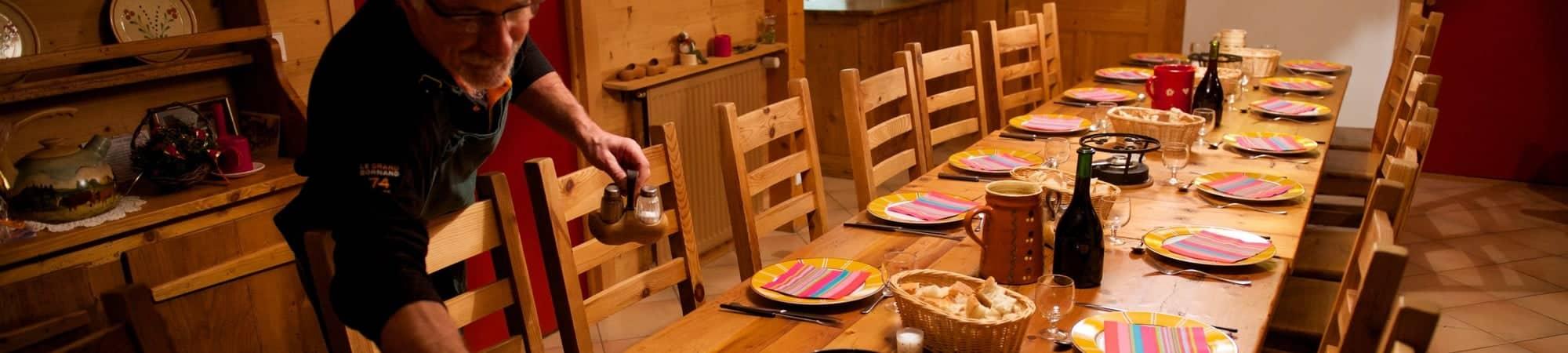 bandeau a table