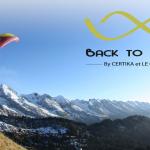 compétition de parapente au Grand Bornand Chinaillon