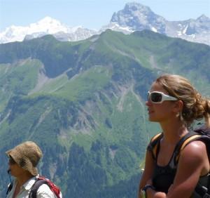 Alice accompagnatrice en montagne au lac De Peyre
